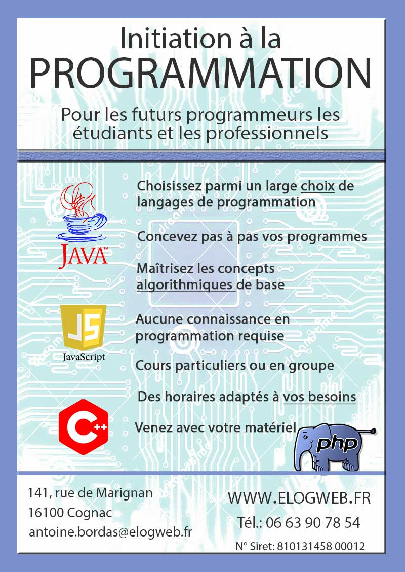 formation base informatique